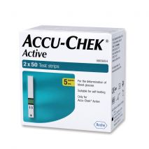 Accu-Chek Active 100 Strips Pack