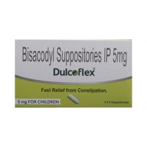Dulcoflex 5mg Suppository for Children