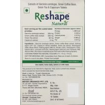 Reshape Natural 30 Tablets Weight Loss Supplement