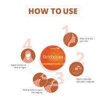 ReVibra A15 Pure Bioactive Vitamin A Cream, 28 Vegicaps
