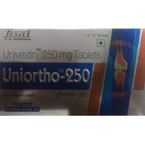 Uniortho Univestin 250 mg 10 Tablets Pack