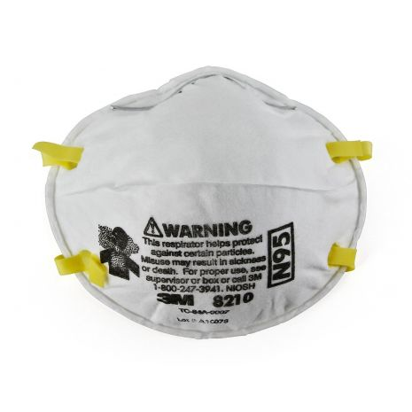 3M 8210 N95 Mask Particulate Respirator