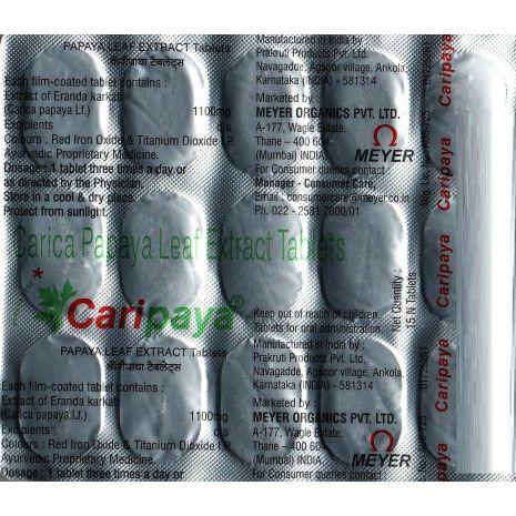 Caripaya Tablets