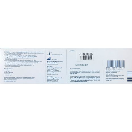 Biocon INSUPen Pro REUSABLE INSULIN INJECTION PEN