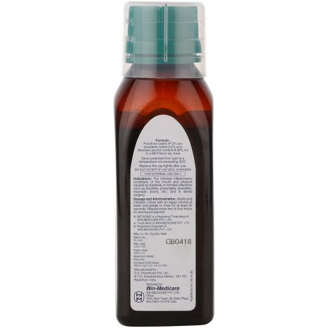 Betadine 2% Gargle Mint 100 ml