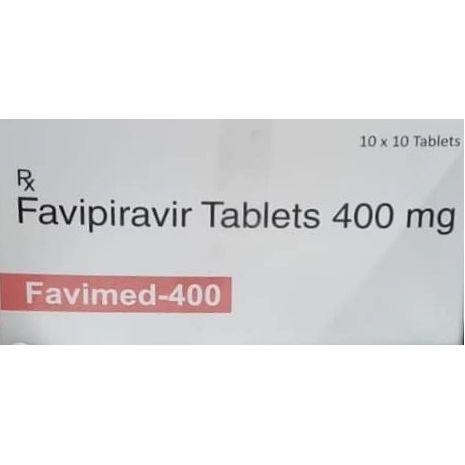 Favimed Favipiravir 400 mg 10 Tablets