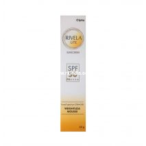 Cipla Rivela Lite SPF 50 PA++++ Broad Spectrum UVA/UVB Weightless Mousse, 60 g