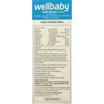 Wellbaby Multi-Vitamin Liquid Syrup 200 ml