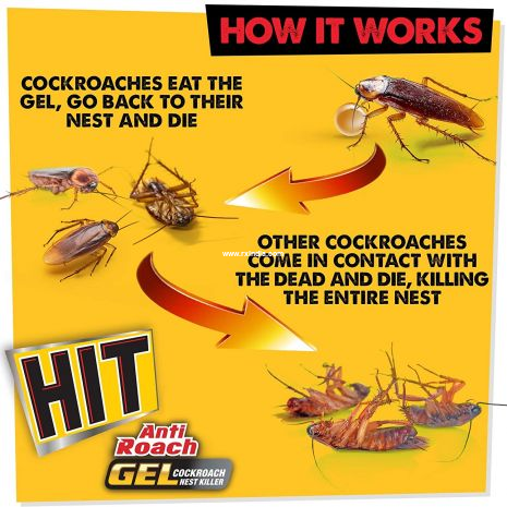 Godrej HIT Anti Roach Gel - Cockroach Killer