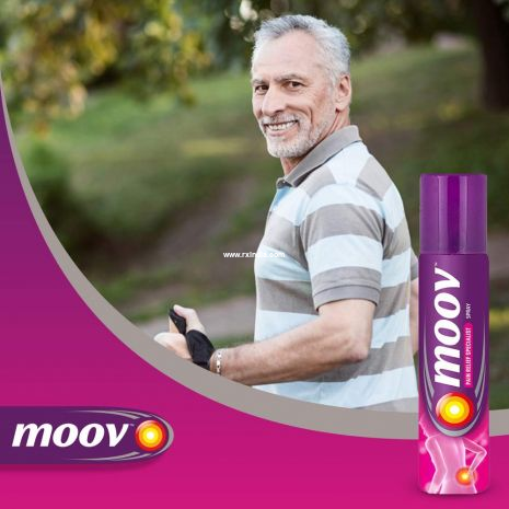 Moov Fast Pain Relief Spray - 80g
