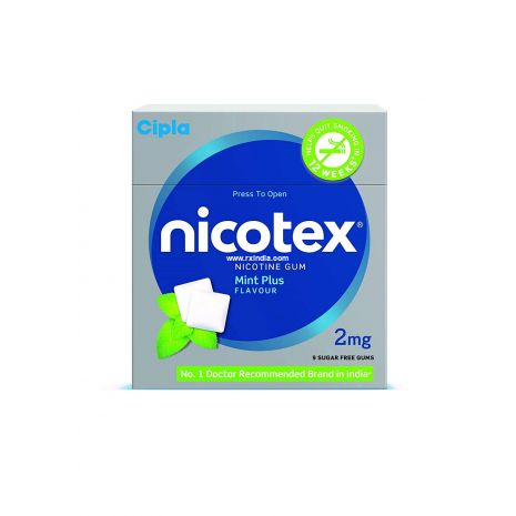 Nicotex 2mg Pack of 9 Gums